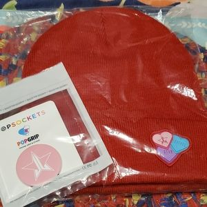 Jeffree star valentine beanie